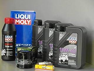MotorFunSports Onderhoudsset geschikt voor Access AMX 7.46 service en inspectie met filter en bougie