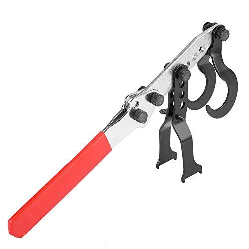 Compresor de resorte de válvula, compresor de culata, herramienta de reemplazo de sello de vástago para motores OHV OHC herramienta rotativa