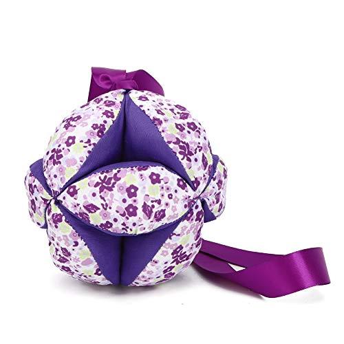 Ovillo de lana, Algodón de color entre padres e hijos para que el bebé patee(purple)
