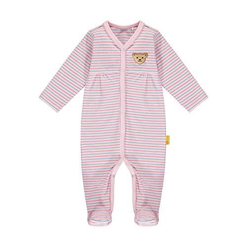 Steiff Baby-Mädchen Strampler, Rosa (Barely Pink 2560), 56 (Herstellergröße: 056)