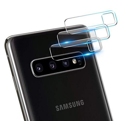 [3 Stück] Samsung Galaxy S10/S10 Plus Kamera-Objektivschutz, Premium HD klar, kratzfest, bruchfest, gehärtetes Glas Folie für Samsung Galaxy S10 Plus/S10 2019