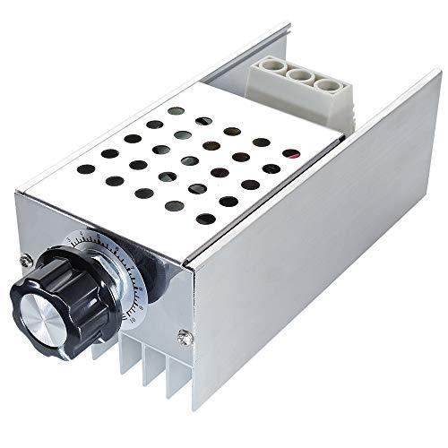 uniquegoods AC 110V 120V 220V 230V 10000W High Power SCR Motor Speed Controller Voltage Regulator Dimming Attemperation Thermoregulation Board