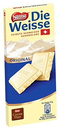 Nestlé die Weisse Original Feinste Schweizer Schokolade, 1 Stück (1 x100g)