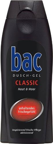 bac Duschgel Classic Men, 3er Pack (3 x 250 ml)