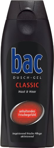 bac Duschgel Classic Men, 3er Pack (3 x 250 ml)