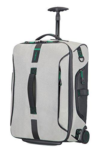 Samsonite Paradiver Light - Bolsa de Viaje con Ruedas, Gris (Jeans Grey), S (55cm-51L)