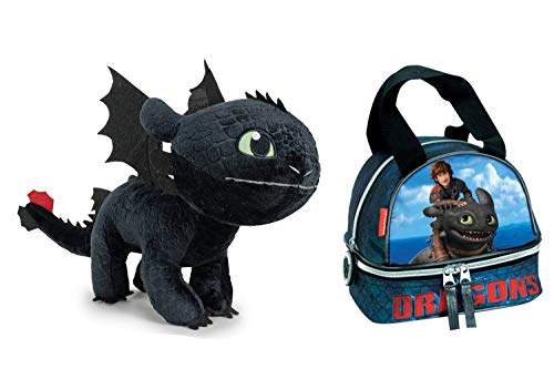 HTTYD Dragons, como Entrenar tu dragón - Pack Peluche