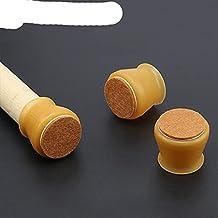 4 stks/partij Siliconen Stoel Been Caps Pad Vilt Tafel En Stoel Beschermhoes Meubels Tafel Voeten Mat Cover Anti-Vloer Pro...