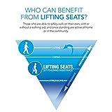 Uplift Sitzhilfe Kissen, Kapazität 90-160kg - 5