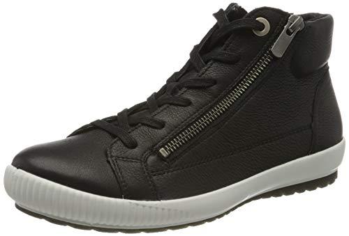 Legero Damen Tanaro Hohe Sneaker, Schwarz (Schwarz (Schwarz) 01), 42.5 EU