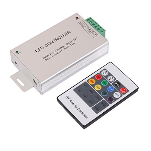20-Key Wireless RF Remote Controller For 5050 3528 RGB LED Strip Lights
