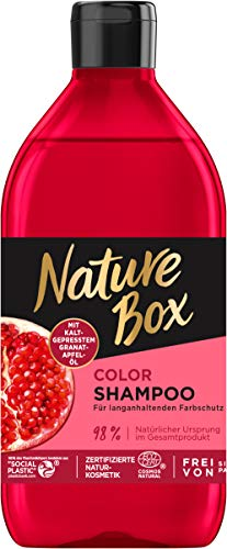 Nature Box Color-Shampoo Granatapfel-Öl, 385 ml