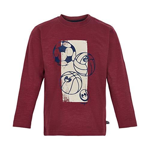 MINYMO Langarm-Shirt Oxford red 92