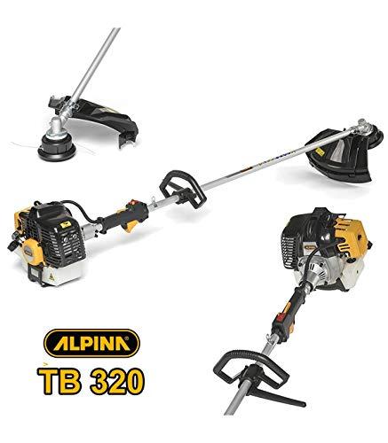 Alpina Trade – Desbrozadora cortabordes Alpina TB320 Motor de arranque 2 tiempos 32 cc TB 320