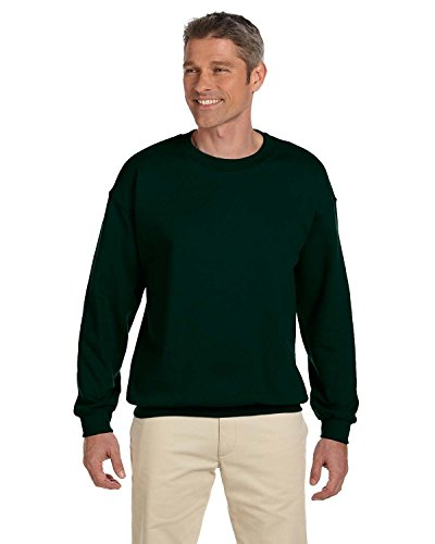 Hanes Men's Ultimate Cotton Heavyweight, Deep Forest, X-Large