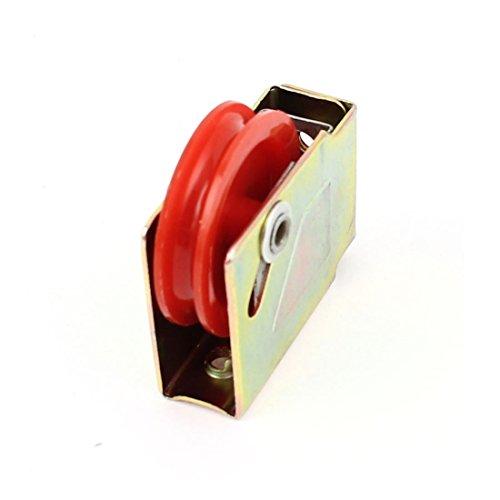 La puerta del rodillo de ventanilla única de nylon de aleación de aluminio de la rueda de polea 73 Tipo