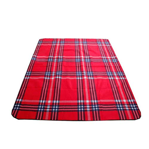 Manta de picnic impermeable portátil plegable de aluminio para dormir esterilla de playa de barbacoa para camping al aire libre esterilla de yoga césped a prueba de humedad