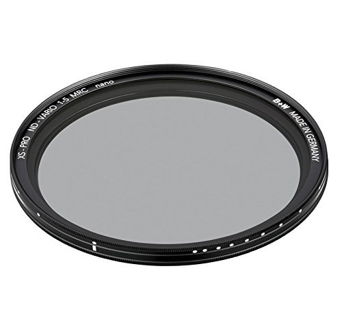 B+W Graufilter ND vario / variabel ND2-32 (77mm, MRC nano, XS-Pro, 16x vergütet, Premium)