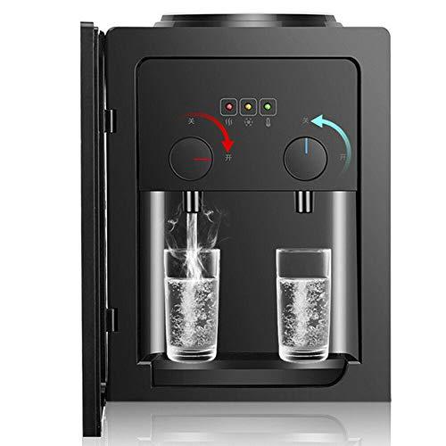550W 220V 4L Heißwasserspender Elektrisch Zuhause Schnelle Erwärmung Wasserspender Büro Schwarz