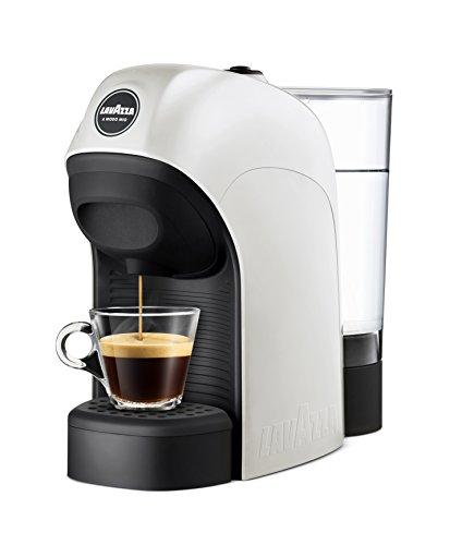 Lavazza A Modo Mio Lavazza - Máquina de café Modelo Tiny - 1450 W de Potencia - Capacidad 0,75 litros Bianco