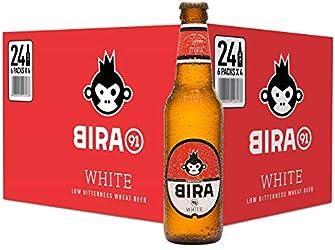 bira91 White Pint Beer, 24 x 330ml