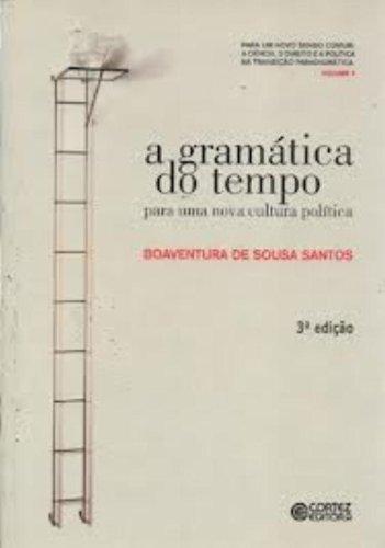 A gramática do tempo: para uma nova cultura política