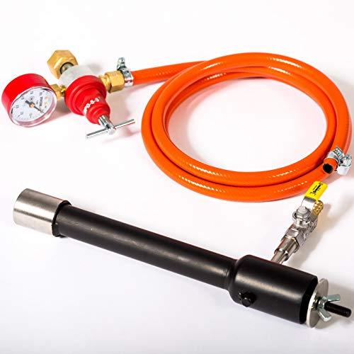 GASBRENNER DFP (80,000 BTU) | für Propan Schmieden und Öfen | Schmiede Hufschmiede Messermacher Metallschmiede | mehr Hitze bei weniger Verbrauch