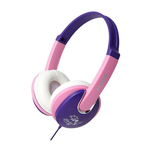 Groov-e Kiddiez, Kids Headphones with Volume Limiter - Pink/Purple