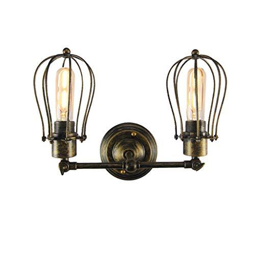 Pomelo kooi lampenkap, retro, inbouw, lampenkap, vintage, industrieel, wandlamp, mini smeedijzer, wandlamp, bevestiging voor club, bar, loft, keuken, woonkamer