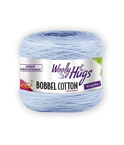 Unbekannt Pro Lana Woolly Hugs Farbverlaufsgarn Bobbel Cotton, 29, 200 g ca 800 m, 2