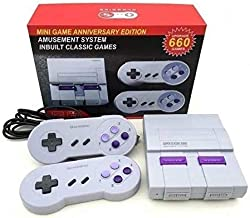 Super Classic Edition system Video Game Console retro Built-in 660 Classic Video Games AV Output TV Game System Bring Back...