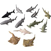 Image: U.S. Toy - Shark Toy Animals | Made of soft plastic
