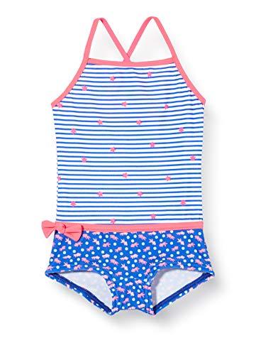 Sanetta Mädchen Badeanzug, Blau (Blau 50286), (Herstellergröße: 140)