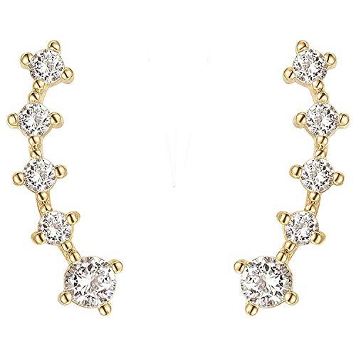 double sided long earrings - 2