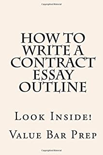 How to Write a Contract Essay Outline: Look Inside!