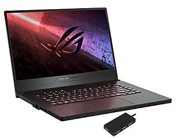 ASUS ROG Zephyrus G15 GL Gaming and Entertainment Laptop  AMD Ryzen 7 3750H 4-Core 24GB RAM 1TB PCIe SSD 15.6  Full HD  1920x1080  GTX 1660 Ti Max-Q WiFi Win 10 Pro  with USB Hub