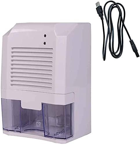 hsj Mini deumidificatore Domestico/deumidificatore di Piccoli Ufficio Asciutto (Color : White, Size : 15.5 x 14 x 23cm)
