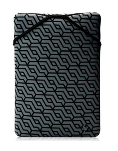 HP 14-inch Reversible Protective Laptop Sleeve (Black/Geometric)