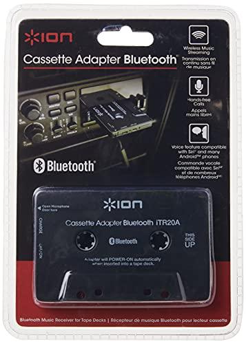 ION Audio Cassette Adapter Bluetooth   Bluetooth Music Receiver for Cassette Decks