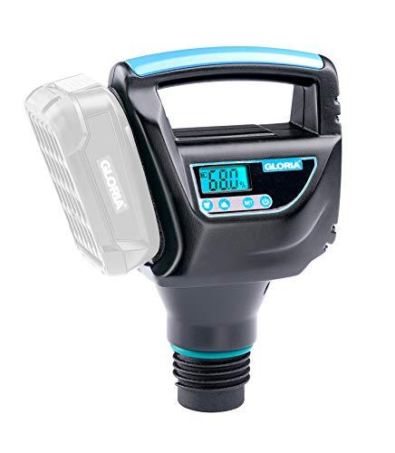 GLORIA Akku Kompressor | Akku Pumpe | Kein manuelles Pumpen | Zubehör für Schaum- und Garten-Drucksprüher | Bosch 18 V Akku erforderlich