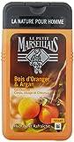 Le Petit Marseillais Hombre Gel de Ducha Cuerpo y Cabello Bois D'Orange y argán botella de 250 ml