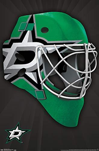 Trends International Dallas Stars Mask Wall Poster 22.375' x 34'