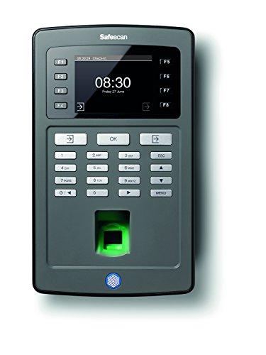 Safescan TA-8020 Zeiterfassungssystem: Terminal mit Fingerprintsensor und Software
