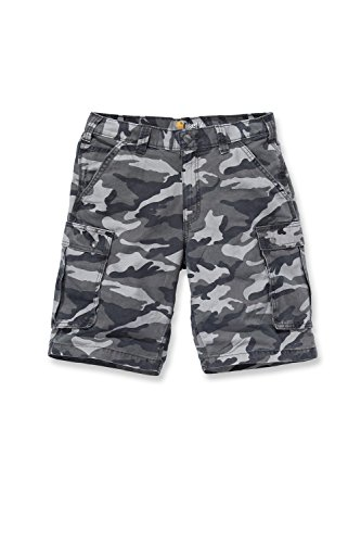Carhartt - Pantaloncini Grigio militare 32
