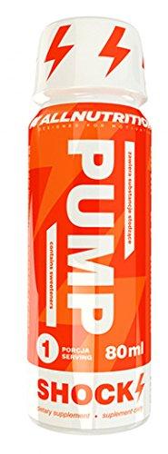 ALLNUTRITION Pump Shock Booster Sport Training Nahrungsergänzungsmittel Bodybuilding 80ml