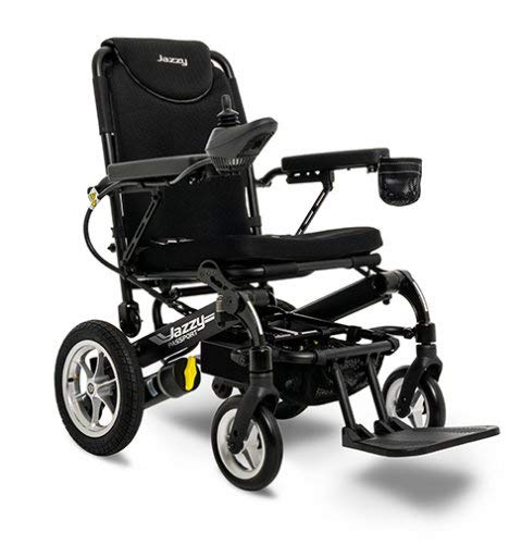 Jazzy Passport Power Wheelchair Folding Lightweight Compact Foldable