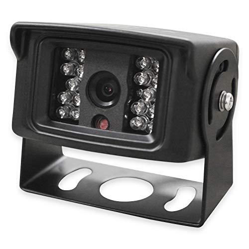 Yatek - Telecamera per visione posteriore con ottica Sony CCD e infrarossi per macchine, camion o autobus.