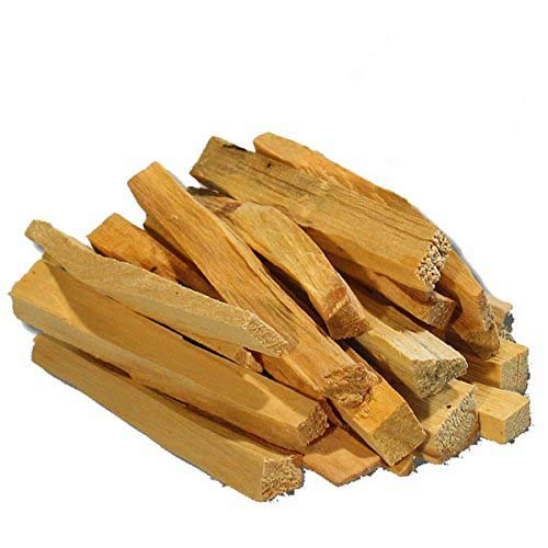 Ancient Veda Palo Santo Sticks - Natural and Organic - Purifying and Protecting - Premium Smudge Sticks - Pure and Fragrant - For Smudging, Fumigation, and Other Rituals - 4.5 oz - Pack of 10
