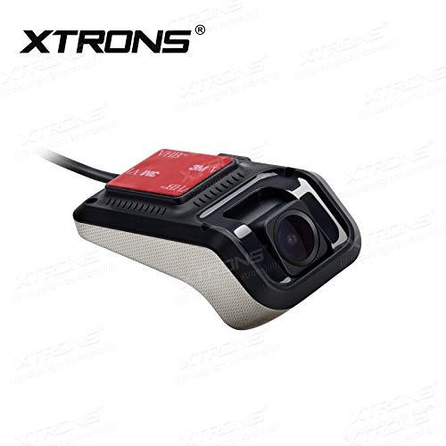 XTRONS 1080p Auto Kamera Auto DVR Videorecorder Dash Cam 140°Weitwinkel Kamera USB Mini Recorder, Nachtversion für XTRONS Android Autoradio (DVR025S(geeignet für Android 9.0 Autoradio))