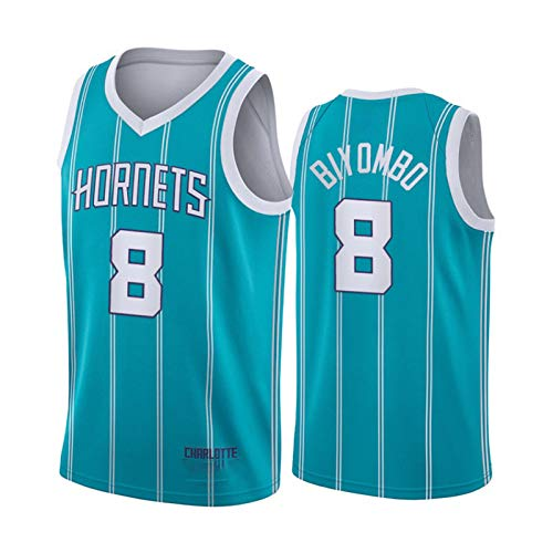 Charlotte Hornets-Trikots, Basketball-Trikots für Männer, atmungsaktive Swingman-Jersey-Fans Sports Sleeveless T-Shirt, Hip Hop Kleidung für Party (S-XXL) F-M